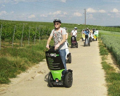 Segway tour of the vineyards
