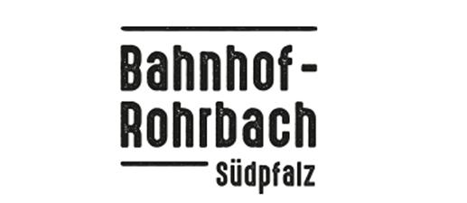 Logo Bahnhof Rohrbach Südpfalz, 517x225px