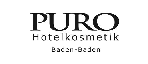 Logo Puro Hotelkosmetik Baden-Baden, 517x225px