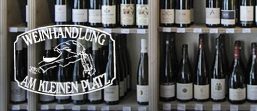 Logo Weinhandlung am kleinen Platz, 517x225px