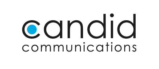 Logo candid communications, 517x225px