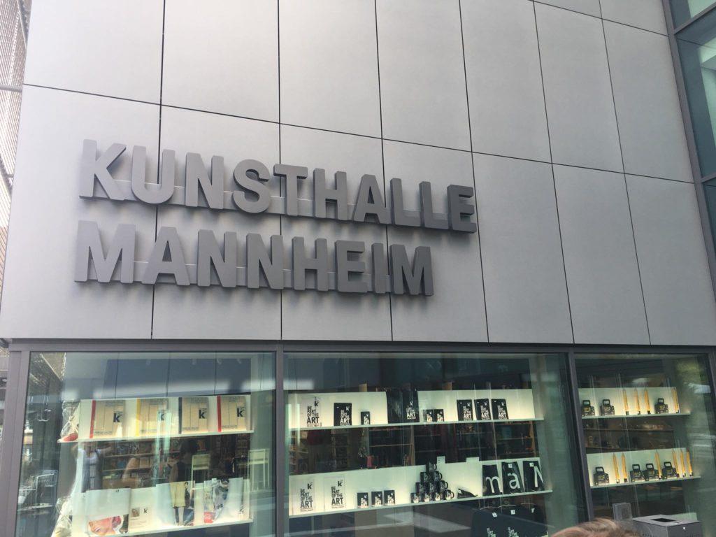 Außenfassade Kunsthalle Mannheim